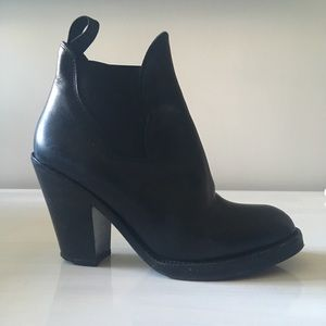 Acne Star Ankle Boots, Size 38